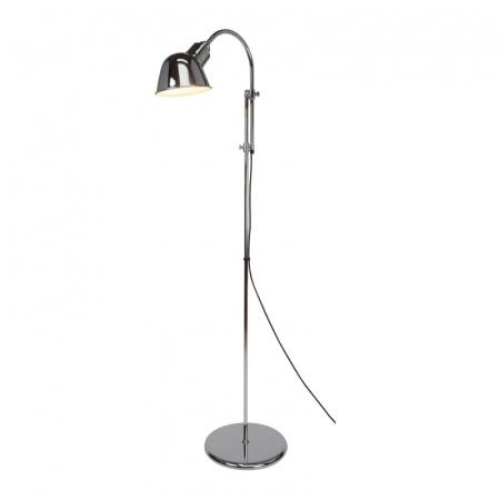 Original BTC Ginger Lampa stojąca 153x51 cm IP20 E27 GLS, chrom FF084CH