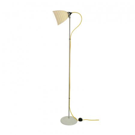 Original BTC Hector Bibendum Lampa stojąca 137x28 cm IP20 E27 GLS, biała, żółta FF497WY