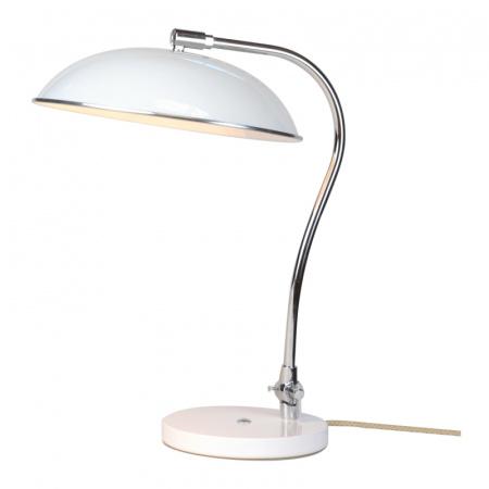Original BTC Hugo Lampa stołowa 62x29 cm IP20 E27 GLS, biała FT417W
