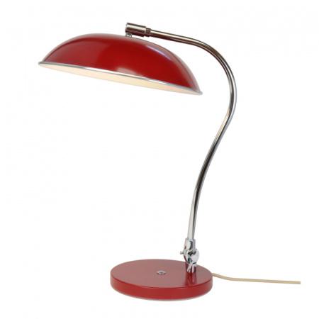 Original BTC Hugo Lampa stołowa 62x29 cm IP20 E27 GLS, czerwona FT417R