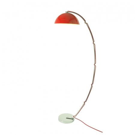 Original BTC London Lampa stojąca 141,5x50 cm IP20 E27 GLS, czerwona FF511R