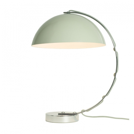 Original BTC London Lampa stołowa 45x31 cm IP20 E27 GLS, szara FT462GR