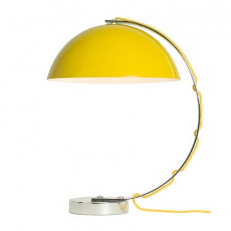 Original BTC London Lampa stołowa 45x31 cm IP20 E27 GLS, żółta FT462Y