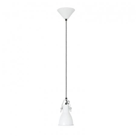 Original BTC Stirrup 1 Lampa wisząca 21x11 cm IP20 E27 GLS, biała FP202W