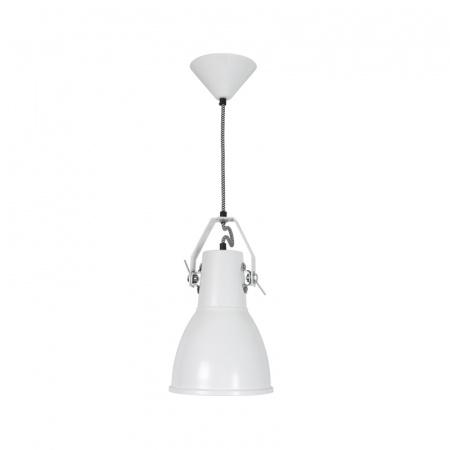Original BTC Stirrup 2 Lampa wisząca 36x19 cm IP20 E27 GLS, biała FP519W