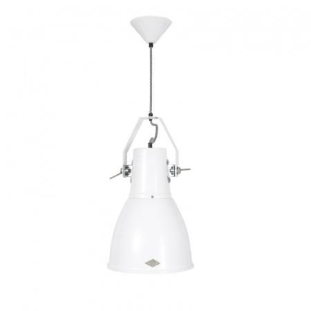 Original BTC Stirrup 3 Bracket Lampa wisząca 50x26 cm IP20 E27 GLS, biała FP525W