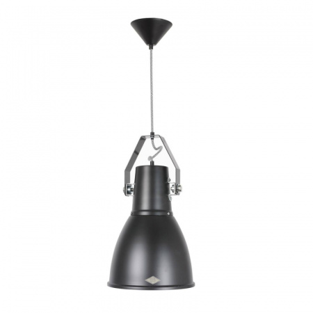 Original BTC Stirrup 3 Lampa wisząca 37,5x26 cm IP20 E27 GLS, czarna FP194K