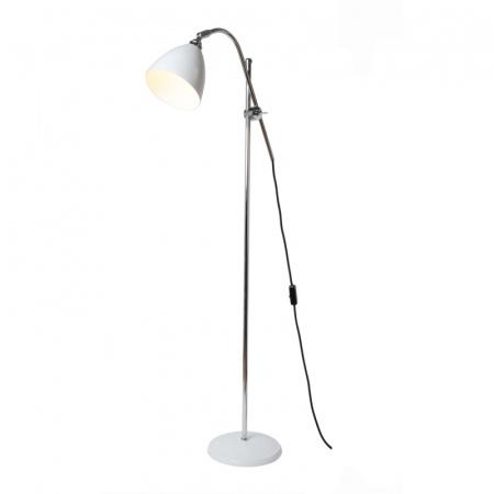 Original BTC Task Lampa stojąca 175x68 cm IP20 E27 GLS, biała FF379W
