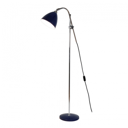Original BTC Task Lampa stojąca 175x68 cm IP20 E27 GLS, niebieska FF379B