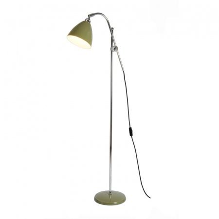 Original BTC Task Lampa stojąca 175x68 cm IP20 E27 GLS, zielona FF379G