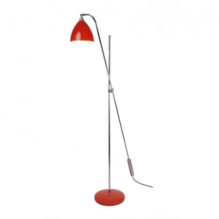 Original BTC Task Lampa stojąca 250x190 cm IP20 E27 GLS, czerwona FF393R