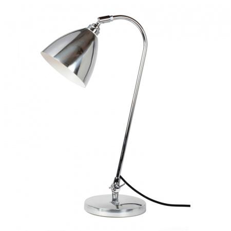 Original BTC Task Lampa stołowa 60,5x16 cm IP20 E27 GLS, aluminiowa polerowana FT427LP