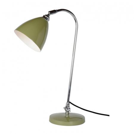 Original BTC Task Lampa stołowa 60,5x16 cm IP20 E27 GLS, zielona FT427G