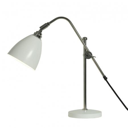 Original BTC Task Lampa stołowa 60x13,5 cm IP20 E27 GLS, biała FT402W