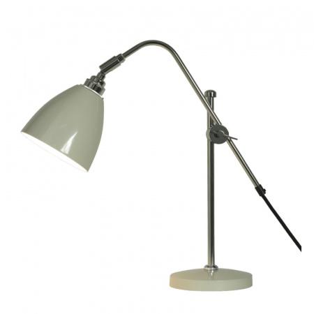 Original BTC Task Lampa stołowa 60x13,5 cm IP20 E27 GLS, szara FT402GR