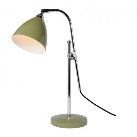 Original BTC Task Lampa stołowa 95x16 cm IP20 E27 GLS, zielona FT378G