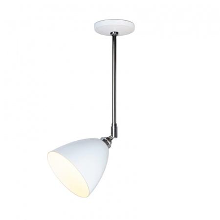 Original BTC Task Lampa sufitowa 57,5x16 cm IP20 E27 GLS, biała FC394W