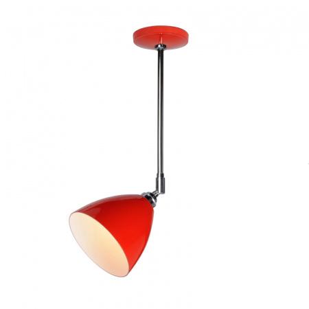 Original BTC Task Lampa sufitowa 57,5x16 cm IP20 E27 GLS, czerwona FC394R