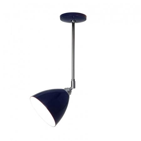 Original BTC Task Lampa sufitowa 57,5x16 cm IP20 E27 GLS, niebieska FC394C