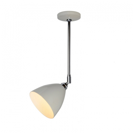 Original BTC Task Lampa sufitowa 57,5x16 cm IP20 E27 GLS, szara FC394GR
