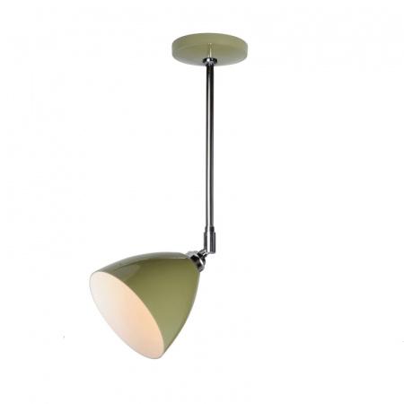 Original BTC Task Lampa sufitowa 57,5x16 cm IP20 E27 GLS, zielona FC394G