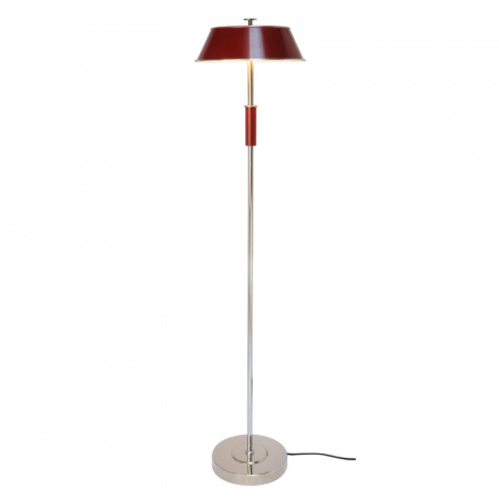Original BTC Victor Lampa stojąca 135x31,5 cm IP20 E27 GLS, czerwona FF408R