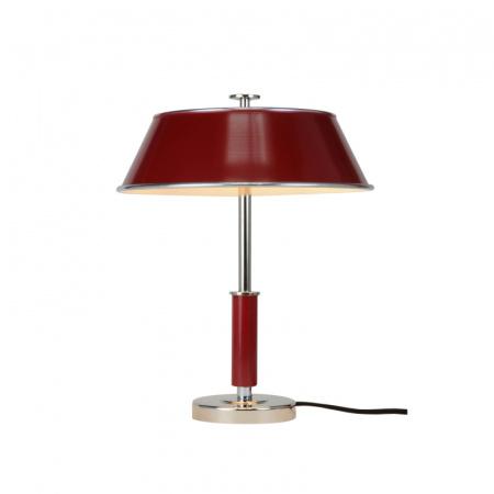 Original BTC Victor Lampa stołowa 39x31,5 cm IP20 E27 GLS, czerwona FT407R