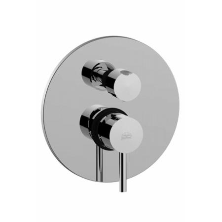 Paffoni Stick Jednouchwytowa bateria wannowo-prysznicowa podtynkowa 3-drożna chrom SK019CR