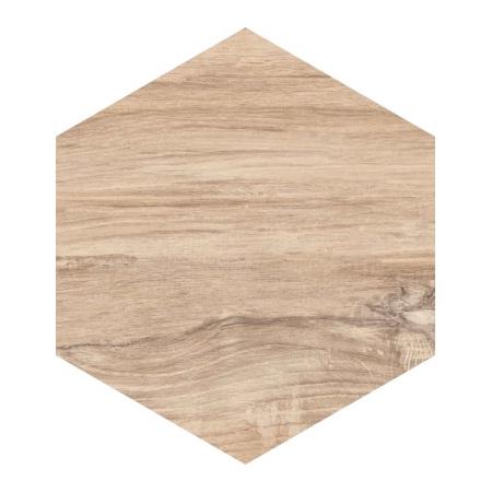 Paradyż Esagon Wood Beige Płytka ścienna 17,1x19,8 cm, beżowa PEWBPS17X20B