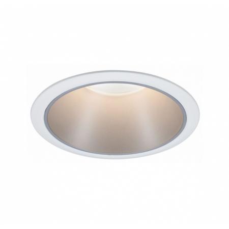 Paulmann Cole Coin Oprawa oświetleniowa wbudowana biały/srebrny 93409