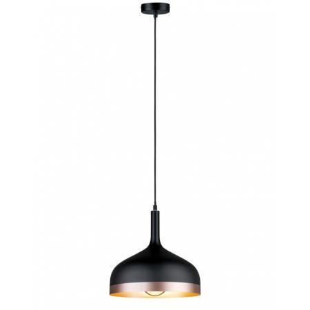 Paulmann Neordic Embla Lampa wisząca czarny/miedziany mat 79629