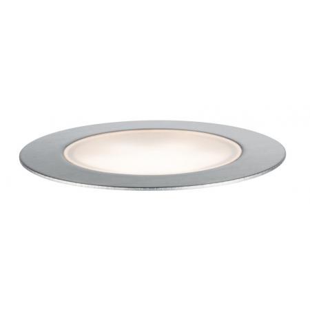 Paulmann Outdoor Plug and Shine Floor Oprawa wpuszczana zewnętrzna srebrna 93692