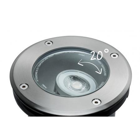 Paulmann Outdoor Plug and Shine Oprawa wpuszczana ruchoma zewnętrzna  srebrna 93907