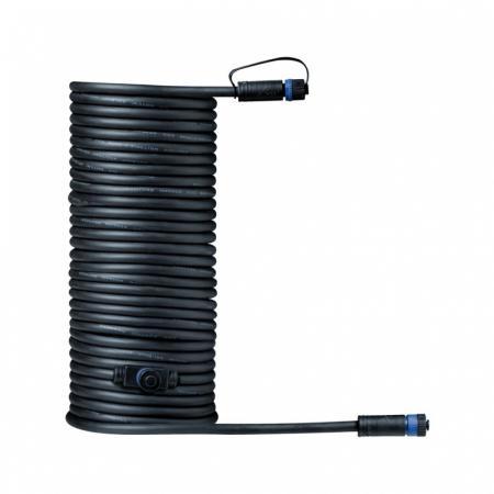 Paulmann Outdoor Plug and Shine Przewód łączący 1000 cm 1in-2out czarny 93928