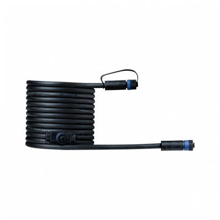 Paulmann Outdoor Plug and Shine Przewód łączący 500 cm 1in-2out czarny 93927