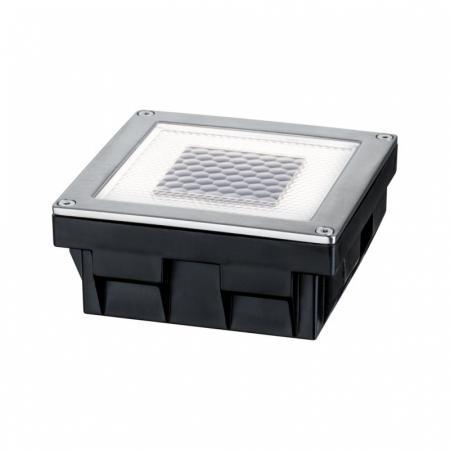 Paulmann Solar Cube Oprawa oświetleniowa wpuszczana solarna LED stal szlachetna 93774
