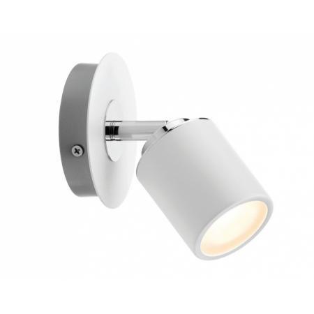 Paulmann Spotlight Tube Kinkiet biały/chrom 66717