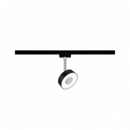 Paulmann URail System Spot Circle Oświetlenie szynowe czarny mat/chrom 96939