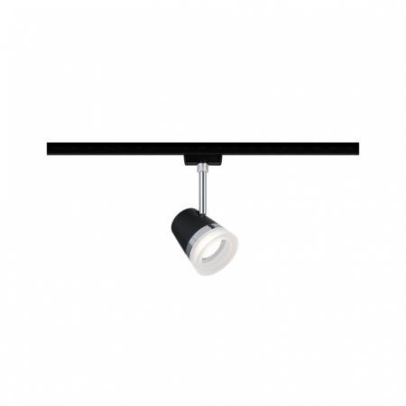 Paulmann URail System Spot Cone Oświetlenie szynowe czarny mat/chrom 96925