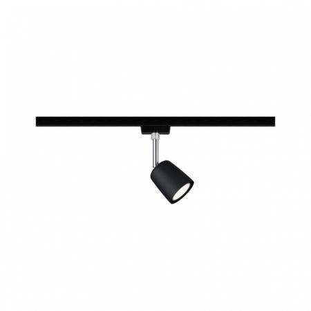 Paulmann URail System Spot Cover Oświetlenie szynowe czarny mat/chrom 96926