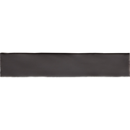 Peronda Argila Peace Black Płytka ścienna 7,5x30 cm, czarna 20203