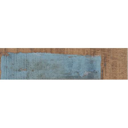 Peronda Argila Uptown Dekor ścienny 7,5x30 cm, niebieski/brązowy 18308