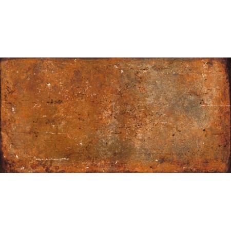 Peronda Argila Williamsburg R Gres Płytka podłogowa 10x20 cm, czerwona 19290