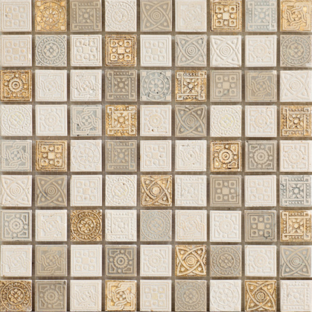Peronda Atelier Irene Gold Mozaika ścienna 30x30 cm, złota 13489