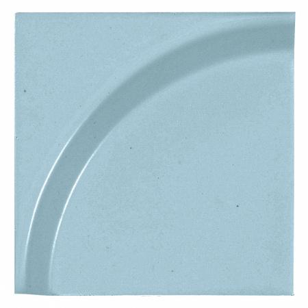 Peronda Bowl by Stone Designs Aqua Płytka ścienna 12x12 cm, niebieska 18301
