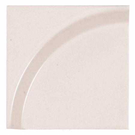 Peronda Bowl by Stone Designs Romantic Płytka ścienna 12x12 cm, różowa 18300