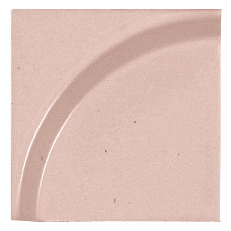 Peronda Bowl by Stone Designs Rose Płytka ścienna 12x12 cm, czerwona 18299