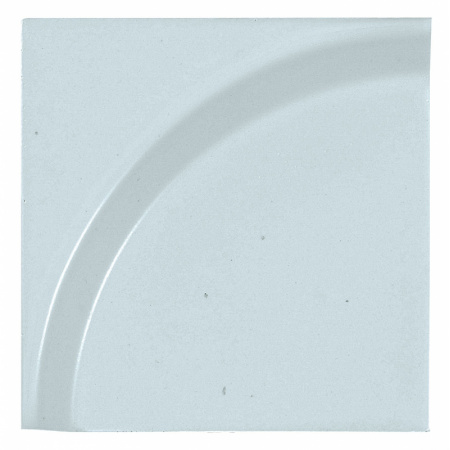 Peronda Bowl by Stone Designs Sky Płytka ścienna 12x12 cm, błękitna 18302