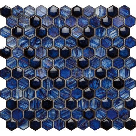 Peronda Brilliant Sky Mozaika ścienna 27,5x29,2 cm, niebieska 19801