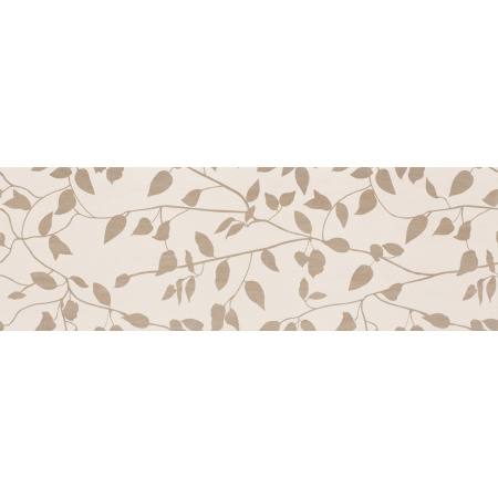 Peronda Brook Leaves-B Płytka ścienna 25x75 cm, beżowa 16179